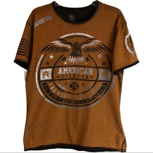 American Fighter graphic short sleeve t-shirt